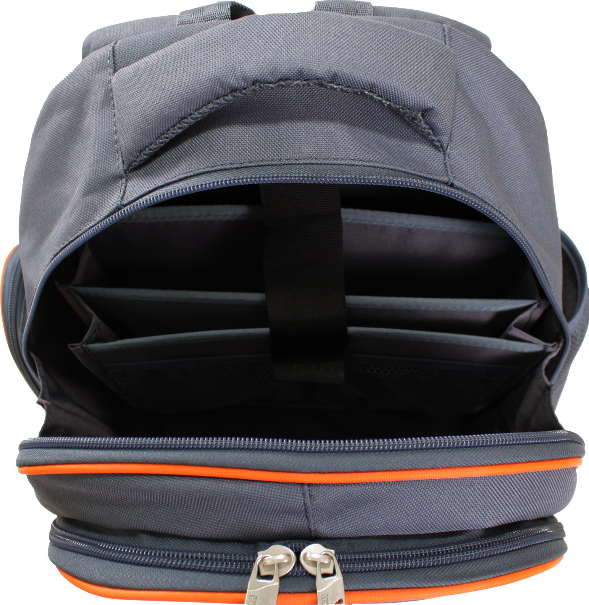 Рюкзак Bagland Pupil 14 л. серый 188 К (0012566)