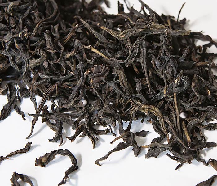 TEA-CH111 Темный улун «Большой Красный Халат» - (Да Хун Пао, слабая обжарка,10 гр)