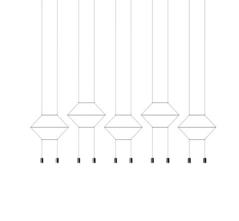 Потолочный светильник копия Wireflow 0330 by Vibia