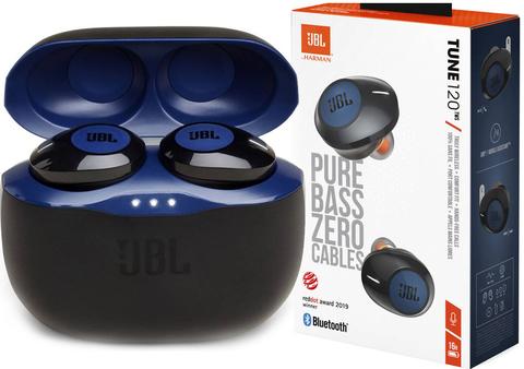 Наушники JBL TUNE 120 TWS синие