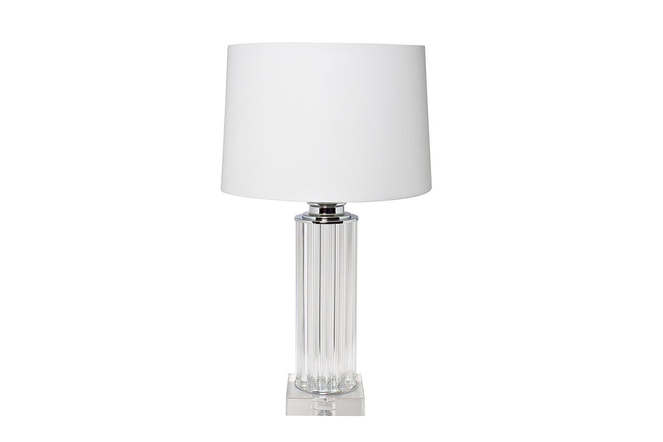 22-87529 Лампа настольная плафон белый Д40,5 В73