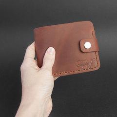 Гаманець Classic + з відділом для монет, натуральна шкіра, ручна робота