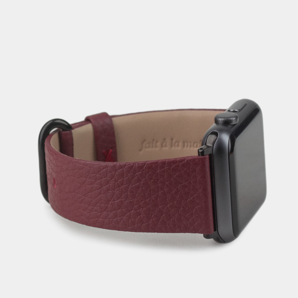 Band for AW 42/44mm — bordeaux