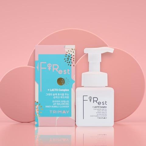 Мягкая пенка для интимной гигиены с пробиотиками Trimay Forest pH-Balansing Inner Bubble Cleanser