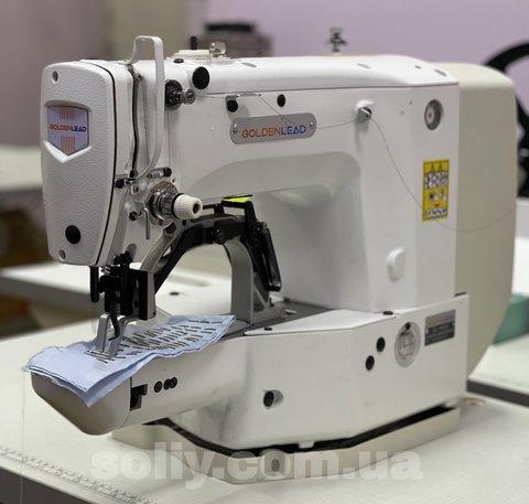 Закрепочная швейная машина полуавтомат  Golden Lead GL-1850D | Soliy.com.ua