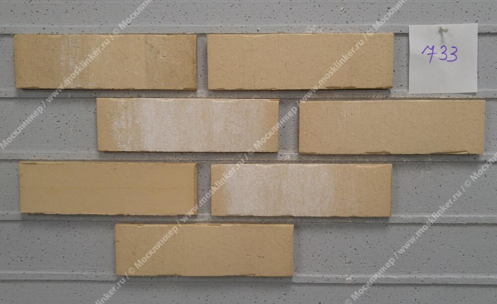 Feldhaus Klinker - R733NF14, Vascu Crema Pandra, 240x14x71 - Клинкерная плитка для фасада и внутренней отделки