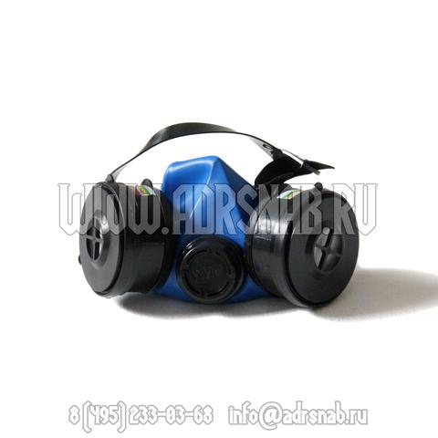 Полумаска с 2-мя фильтрами (A1B1E1K1Р1D)