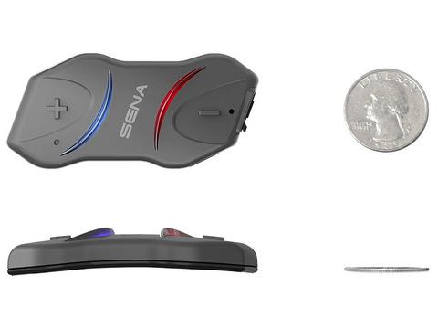 Bluetooth мотогарнитура SENA 10R-01 DUAL, без пульта ДУ