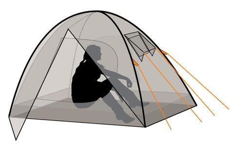 Палатка Canadian Camper IMPALA 2, цвет royal