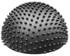 Semisphere, black, mat, with small spheres, Ø = 0,06m