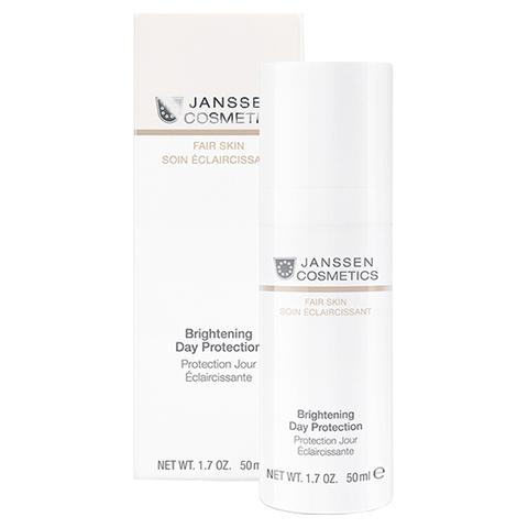 Осветляющий дневной крем для всех типов кожи Brightening Day Protection SPF 20, Fair skin, Janssen Cosmetics, 50 мл