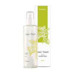 Увлажняющий мист Deoproce Real Fresh Vegan Moist Facial Mist с растительными экстрактами 210 мл