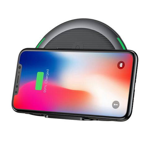 Сетевая зарядка Baseus Foldable Multifunction Wireless Charger Black