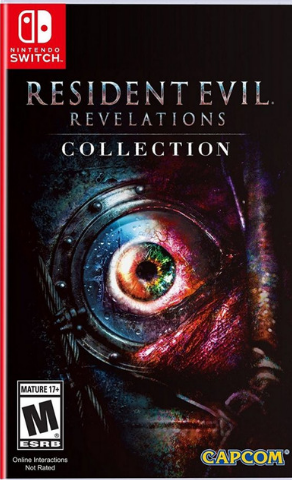 Resident Evil: Revelations Collection (Nintendo Switch, USA регион, русская версия)