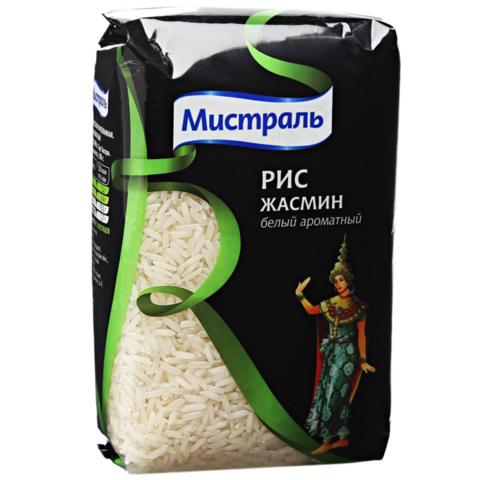 Рис жасмин Мистраль МИНИМАРКЕТ 0,5кг
