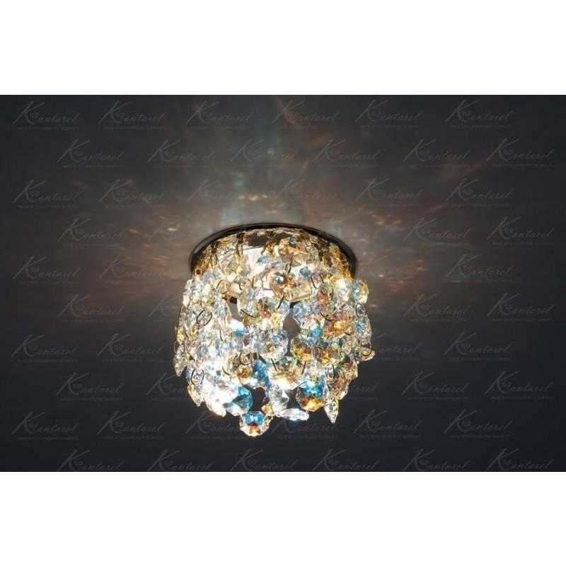 Встраиваемый светильник Kantarel Crown CD 025.2.1 AB crystal AB
