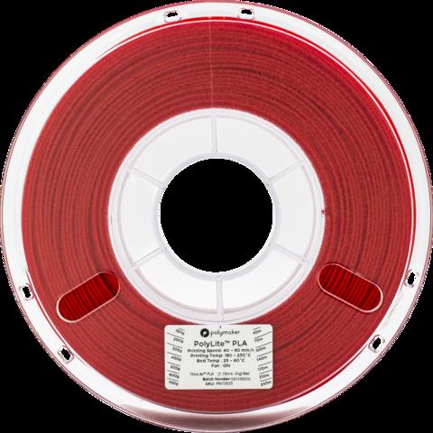 PolyMaker PolyLite PLA, 1.75 мм, 1 кг, Красный