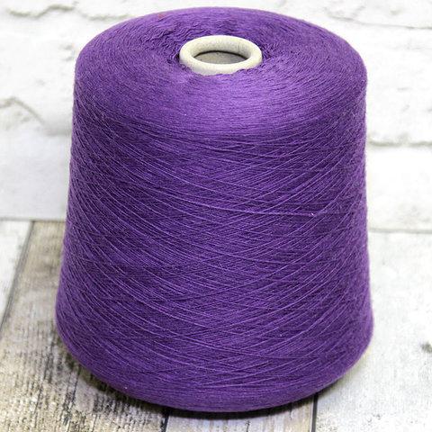 Смесовка с кашемиром (10%) NEW MILL VELOX 1/1450 фиолетовый