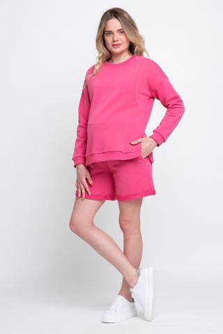 Спортивный костюм для беременных и кормящих 12535 фуксия