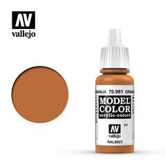 Model Color - Orange Brown 17мл.