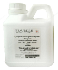 Лимфодренажное легкое СПА масло  (Beaubelle | SPA масла | Lymphatic Drainage Light Spa Oil), 1000 мл.
