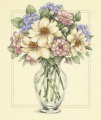DIMENSIONS Цветы в высокой вазе (Flowers in Tall Vase)