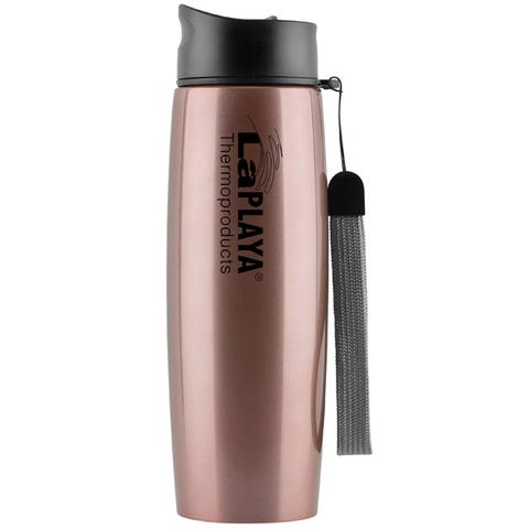 Кружка-термос, LaPlaya, Thermo Mug SS Strap, pink, 500 мл