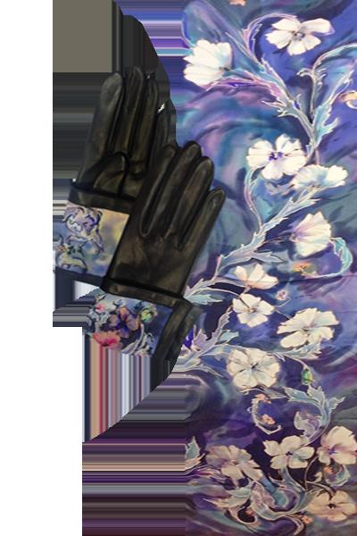 Комплект Батик Морозные цветы
