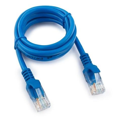 Патч-корд UTP 5e литой 2М Tantos (синий)