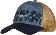 Кепка-бейсболка Buff Trucker Cap Tzom Stone Blue