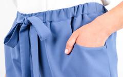 Клара. Офисные брюки плюс сайз. Джинс.