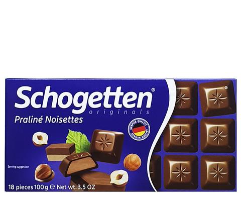Шоколад Schogetten Praline Noisettes со вкусом фундука 100 гр