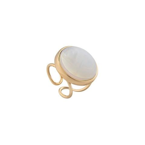 Кольцо Pearl Opaline 16.5 мм K0948.25 BW/G