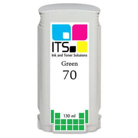 Картридж для HP 70 (C9457A) Green 130 мл