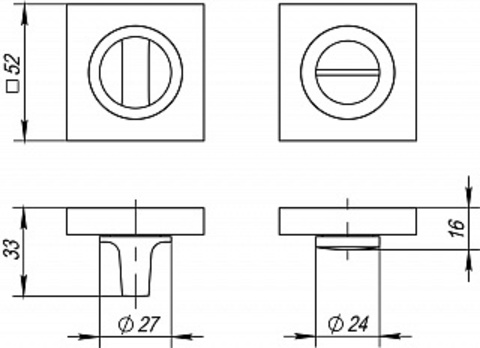 Завертка FUARO BK6 KM AB/GP-7 Схема