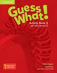 Guess What! Level 1 Activity Book with Online Resources