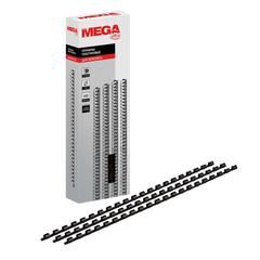 Пружины для переплета пластиковые Promega office 6 мм черные (100 штук в упаковке)