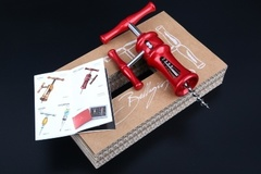 Штопор с воротом Farfalli модель O220.05 Bellagio Red, фото 3