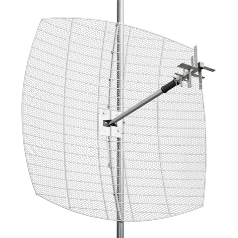Крокс KNA27-800/2700C MIG 27дБ MIMO Направленная параболическая 3G/WiFi/4G  антенна, сборная