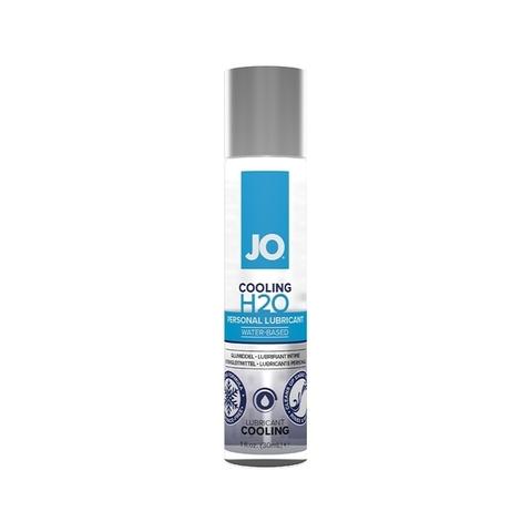 JO H2O Cooling, 30 ml Классический охлаждающий лубрикант на водной основе