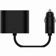 Разветвитель прикуривателя Xiaomi Roidmi Dual Port Converter Black GDS4054RT
