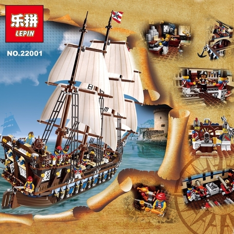 Конструктор LEPIN Pirates