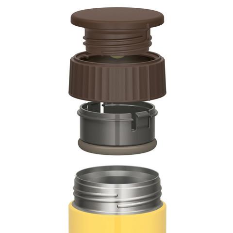 Термос для еды Thermos JBQ-400-BNN (0,4 литра), желтый