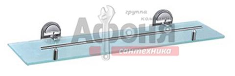 1907/L Полка 1-ая хром/стекло