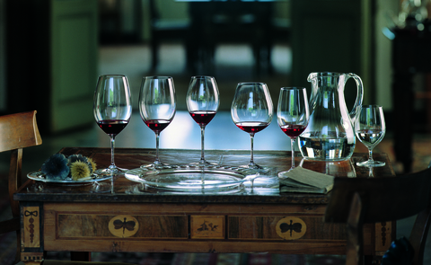 Набор из 4-х бокалов для вина Cabernet Sauvignon/Merlot (Bordeaux) 610 мл, артикул 5416/47 Bordeaux . Серия Vinum