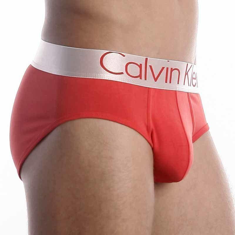 Мужские трусы брифы Calvin Klein Brief Steel Red