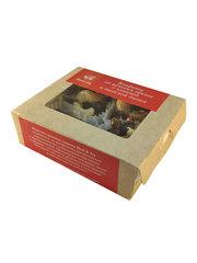 Конфеты из цельных орехов с клюквой и тайской дыней,