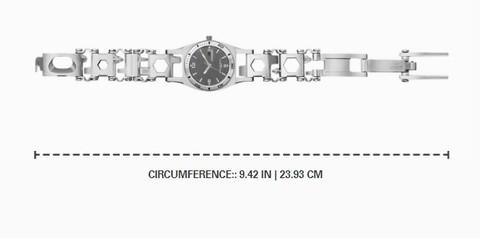 Часы-мультитул Leatherman Tread Tempo LT Black | Multitool-Leatherman.Ru