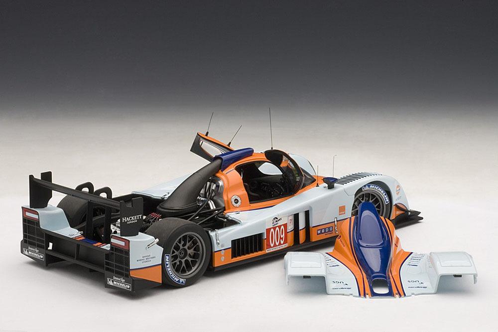 Коллекционная модель Aston Martin Lola LMP 1 2009 №009 Le Mans