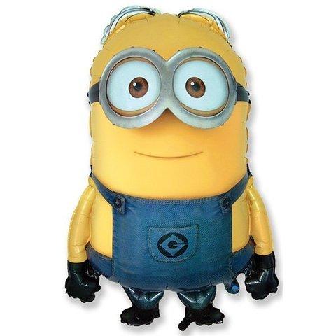 Шар фигура Миньон Дейв, желтый, 78 см